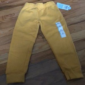 Kids Yellow sweatpants